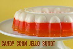 Candy Corn Jello!