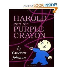 Harold and the Purple Crayon 50th Anniversary Edition (Purple Crayon Books)