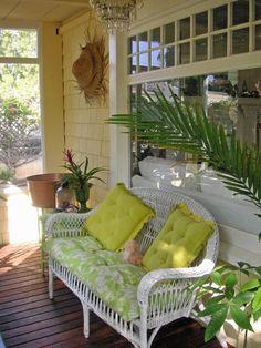 Coastal-Style Porch : Home & Garden Television #HGTV #porch