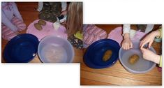 Salt water experiment with potato instead of egg.  Also listed qualities