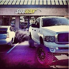 #lifted #dodge #truck