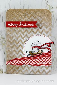 Lawn Fawn - Winter Bunny, Happy Everything _  Merry Christmas | Flickr - Photo Sharing!
