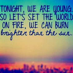 We Are Young- Fun