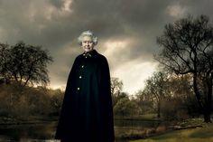 queen elizabeth, art photography, people art, the queen, photography design, annie leibovitz, anni leibovitz, portrait, buckingham palace