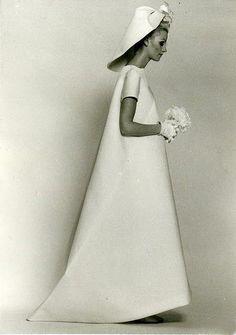 Balenciaga wedding gown, summer 1968