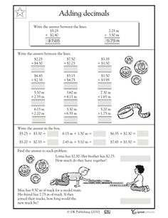 Free fifth grade math common core worksheets