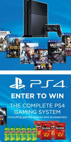 Win a Complete PS4 Gaming System