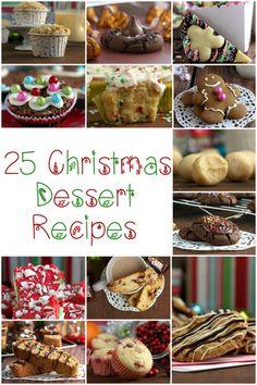 25 Christmas Dessert