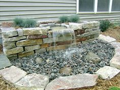 Pondless Fountain Perfect for people with animals and children. I think it would look GREAT in our backyard.
