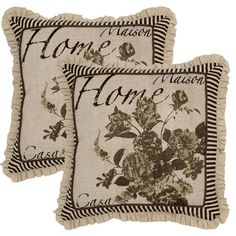I pinned this Home Pillow from the Family Room Refresh event at Joss and Main!