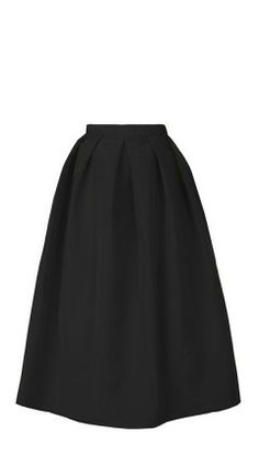 Silk Faille Full Skirt   Shop   Tibi