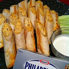 Buffalo Chicken Taquitos Recipe - Key Ingredient