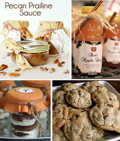#Fall Homemade Treats for Gifts with Free Printable Tags.