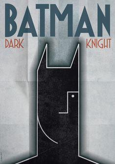 Batman, Art Déco Style
