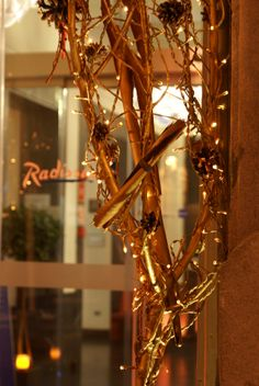 Beautiful gold decor at #RadissonBlu Hotel #Madrid Prado