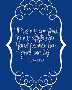 Psalms 119:50