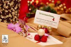 Fresh Raspberry Orchard Flower | Puff 'n Stuff Catering | puffnstuff.com | Tampa + Orlando, FL | Photography by Greg | #holiday #dessert #elegant