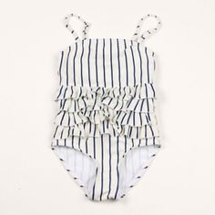 MINI RODINI FRILL SWIMSUIT
