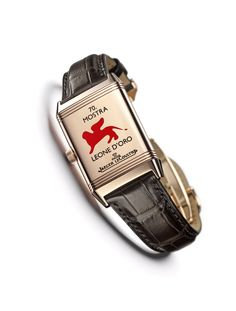 The #JaegerLeCoultre #Reverso engraved 70th Mostra
