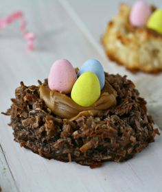 Coconut Macaroon Nests - FoodBabbles.com
