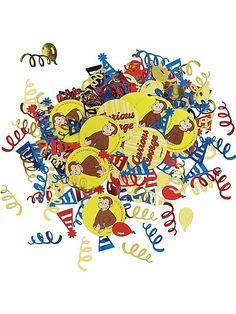 Curious George Confetti(Each) - Curious George Birthday Party Supplies