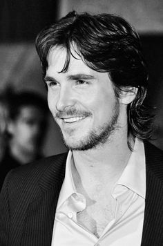 Christian Bale OMG he's beautiful.  I fell in love with Irving..Bale made that movie live ....American Hustle....I watched it two other times beside the theater and I almost never do that.
