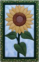 "Kits Quilt - Sunflower Quilt Kit de Magia - 12 ""X19"""