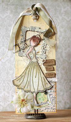 Prima Doll Wedding Tag by craftykrafts on Etsy, £3.00