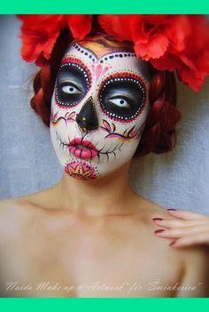 Joy of Giving: Halloween 2012 'Sugar Skull' Makeup