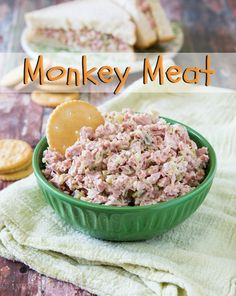 Monkey Meat! It's a