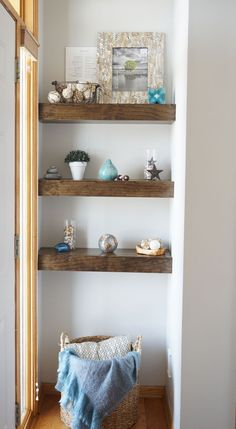 Chunky Shelves |www.countingwillows.com