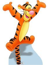 Tigger Life Size Cardboard Cutout - Party City