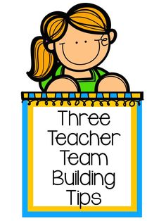 Tuesday Teacher Tips: Teacher Team Building - a ton of fun team building activities - perfect way to start your year. #TeamBuilding