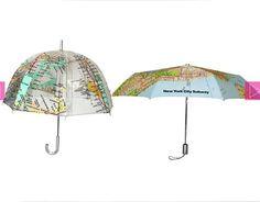 world map umblellas