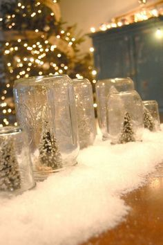 DIY homemade christmas decoration · I love this! So simple and pretty!