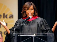 MICHELLE OBAMA: AMERICA STILL RACIST by WILLIAM BIGELOW -On Friday, First Lady Michelle Obama used the occasion of the 60th anniversary of the Brown vs. Board of Education ruling to lecture graduating high school seniors in Topeka, Kansas, that America is still a racist country.Despite the fact that her husband was elected President of the United States twice, Obama said:
