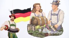 VIDEO-- Germanfest - Oktoberfest Party Supplies: Oktoberfest Decorating Kit - Sh...