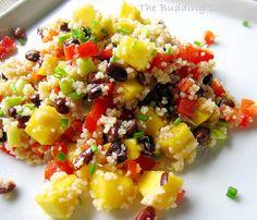 I love couscous!  Summer Couscous Salad
