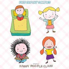 Children Clip Art for FREE
