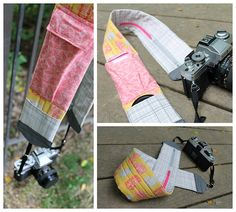 {Tutorial} The Cammy Pack Camera Strap