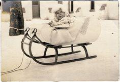 vintage christmas, sleigh photo, sleigh babi, snow babi, sleigh rides