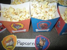 Pupcorn in individual boxes printed from nickjr.com
