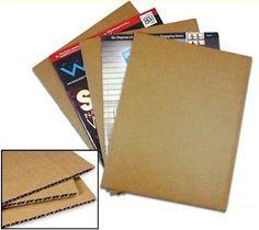 300 8 5 x 11 Cardboard Corrugated Pads