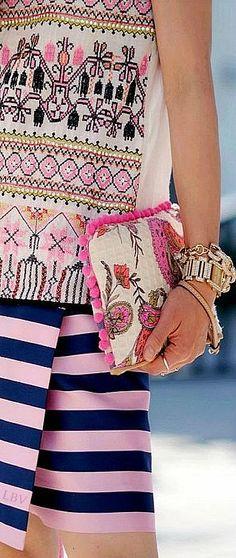 Pink Mixed Prints | LBV S14