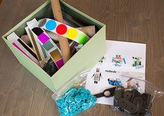 homemade gift ideas for boys...I especially like the robot kit :)