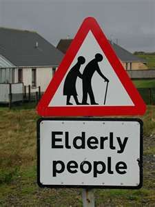 ... our elderly people who have become a forgotten population