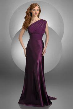 Purple bridesmaid dress. gorgeous!