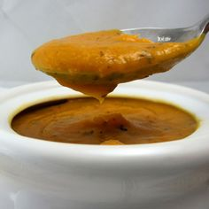 Crockpot Sweet Potato Basil Soup