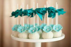 Fondant- The Wedding Cake Blog: Wedding Cake Pops