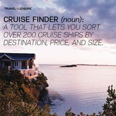 From the Bahamas to Indonesia, find the best cruise ships and voyages for 2014 with T+L's Cruise Finder, which lets your sort ships based on your preferences.